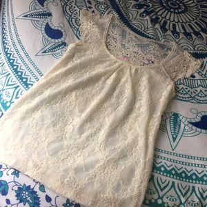Tops - 3/$20 Lace Top